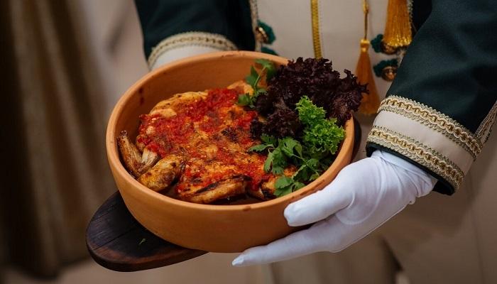 Грузинская кухня ресторан Граф Кутузов Алушта