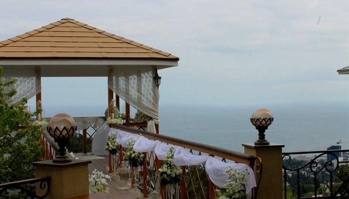 Свадьба ресторан Горка в Ялте