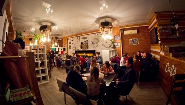 Уютное кафе в Бахчисарае Garag