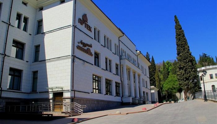 Дворец Суук-Су на территории Артека