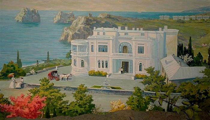 Дворец Суук-Су в Гурзуфе