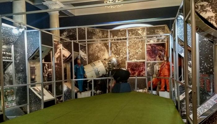 Музей космонавтики во дворце Суук-Су