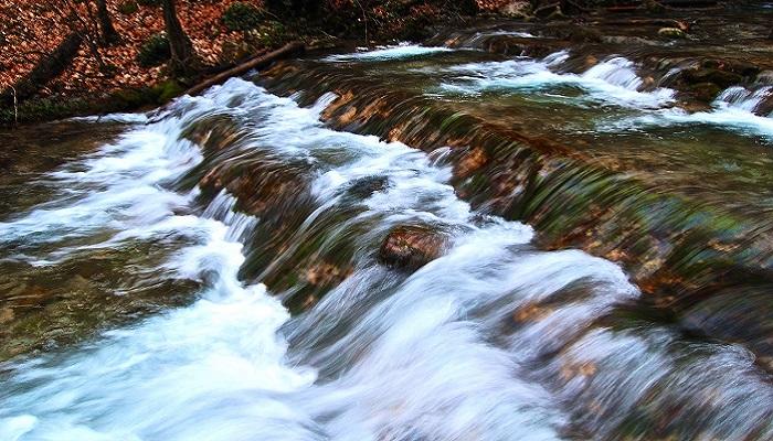 Фото Самый мощный водопад Крыма