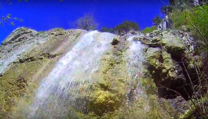 Фото Самый высокий водопад в Крыму