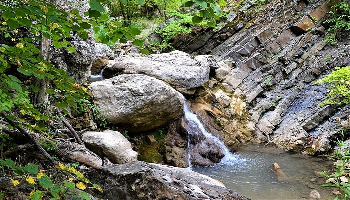 Фото Ускутские водопады Крым