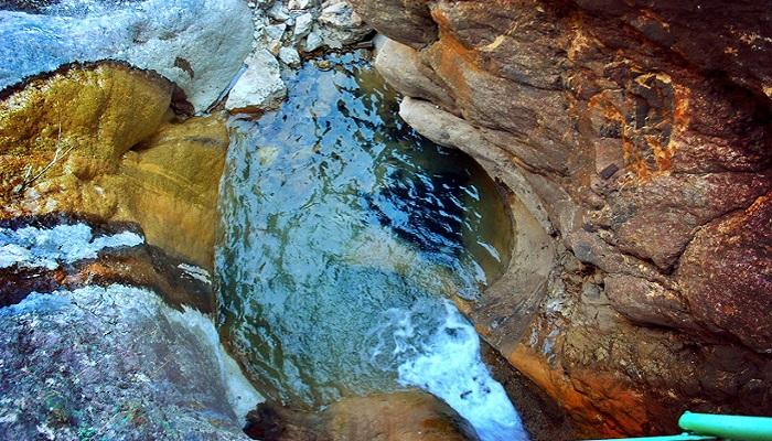 Фото Ванна любви на Арпатских водопадах