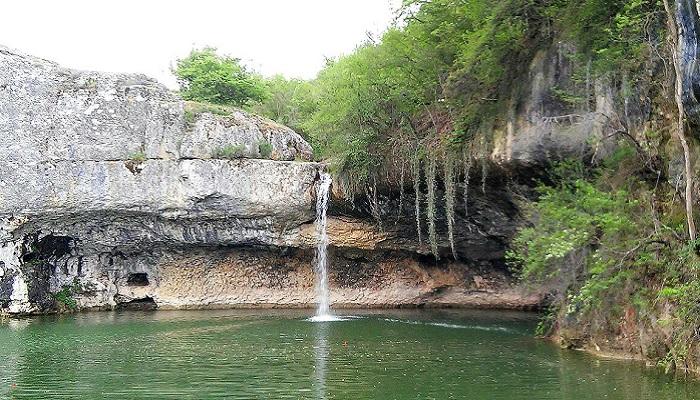 Фото Водопад Мердвен-Тобе Крым