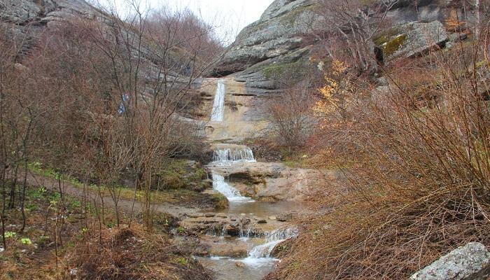 Фото Водопад весной