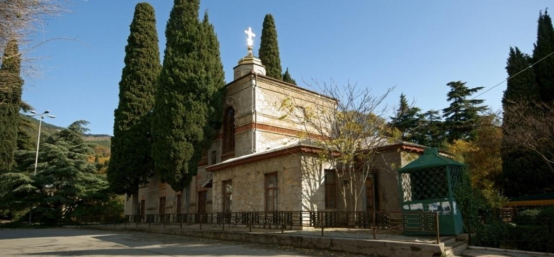 Петропавловская церковь в пгт Никита