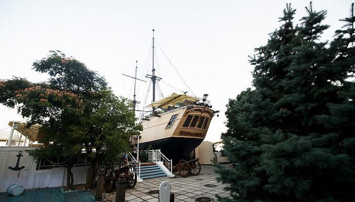 Эспаньола ресторан на набережной Ялты