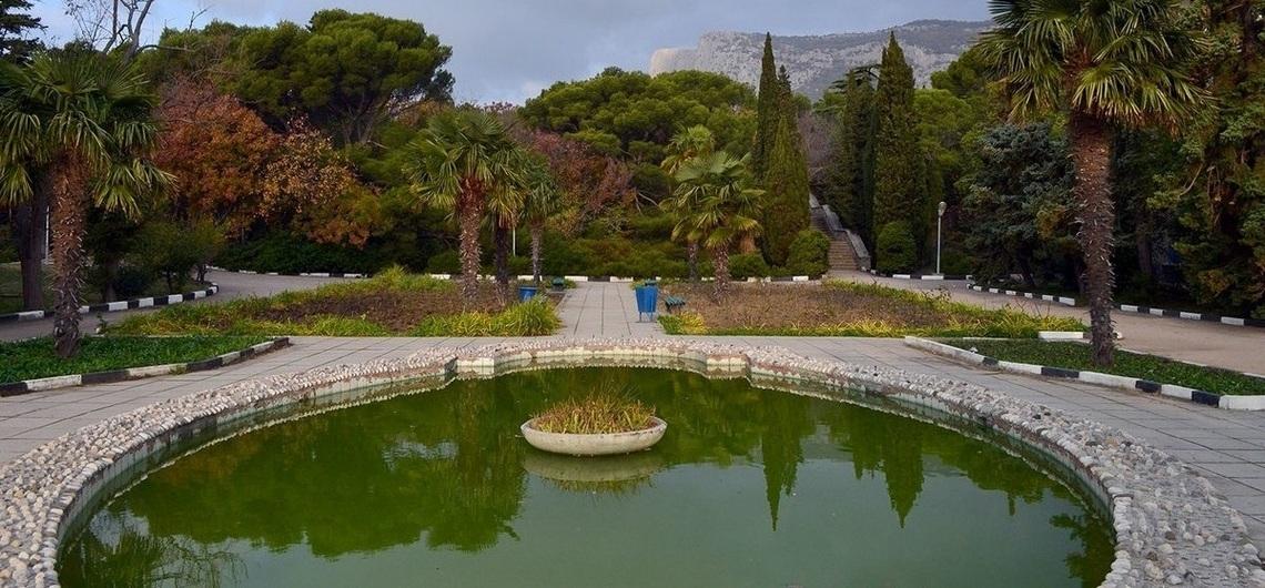 фото фонтан в Форосском парке