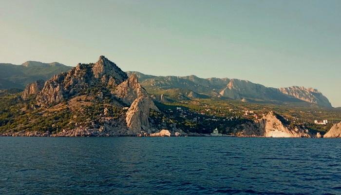 Гора Кошка вид с моря