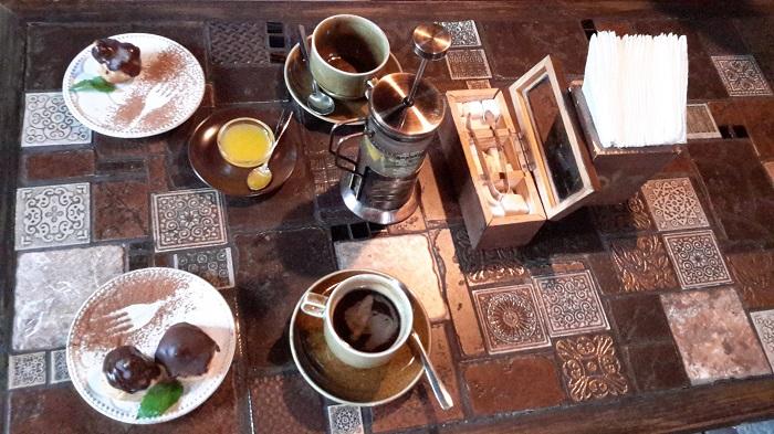 Фото Десерт в кафетерии Пушкин Ялта