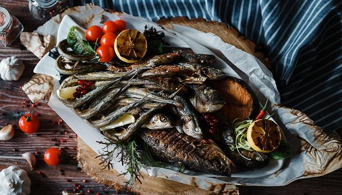 Морепродукты ресторан Горка в Ялте
