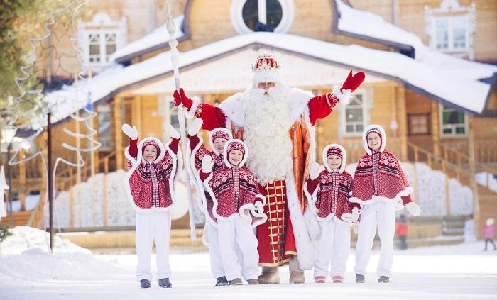 Фото Мороз-парад в Ялте