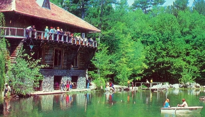 Озеро Караголь в советские времена