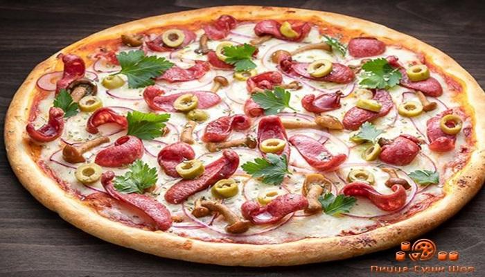 Пицца магазина Пицца-Суши Шоп Ялта