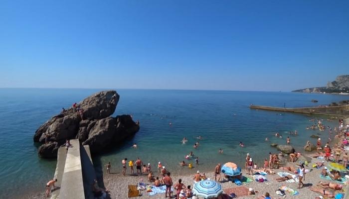 Пляж Лягушка