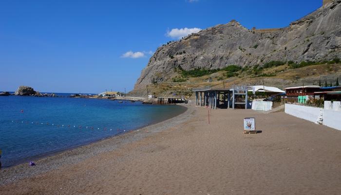 Фото Пляж в Судаке