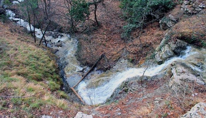 Река Яузлар Крым