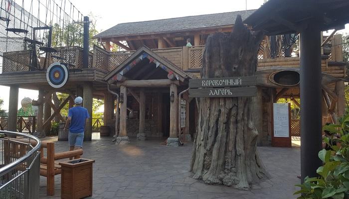 Веревочный лагерь парк Дримвуд