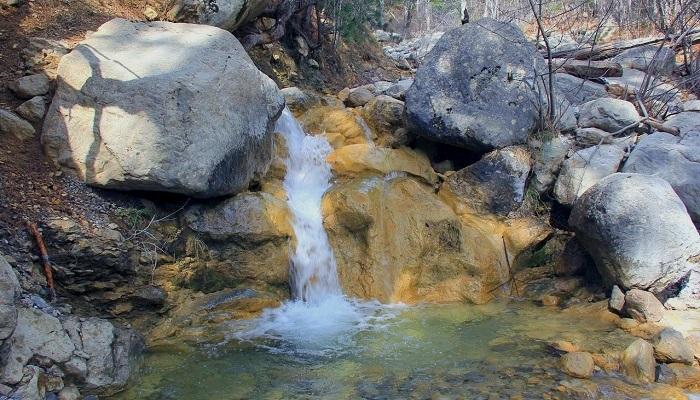Водопады Яузлар Крым