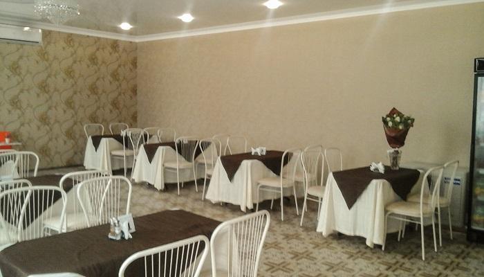 Зал в кафе для банкетов в Щебетовке