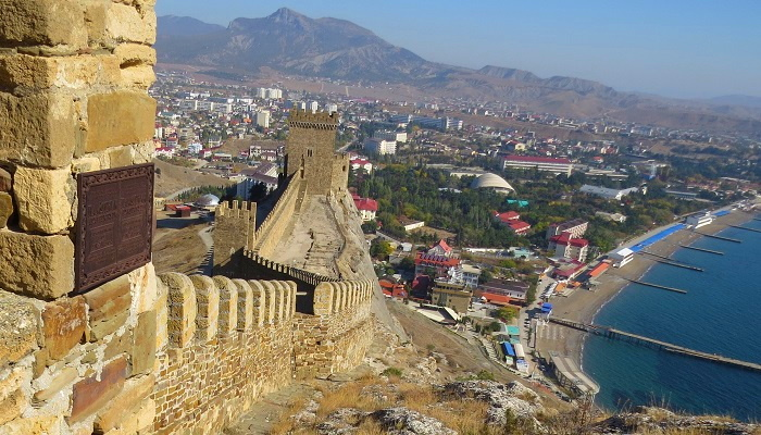 Генуэзская крепость Судака