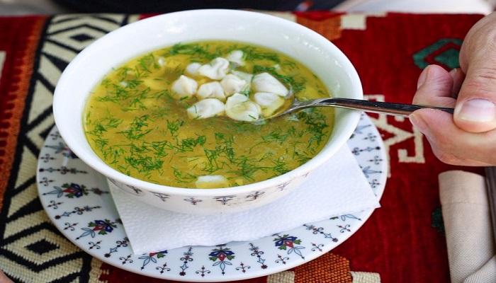 Суп с пельменями юфак аш