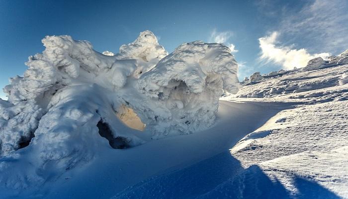Фото Чатыр-Даг зимой