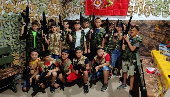 Детский лазертаг Коммандо Крым