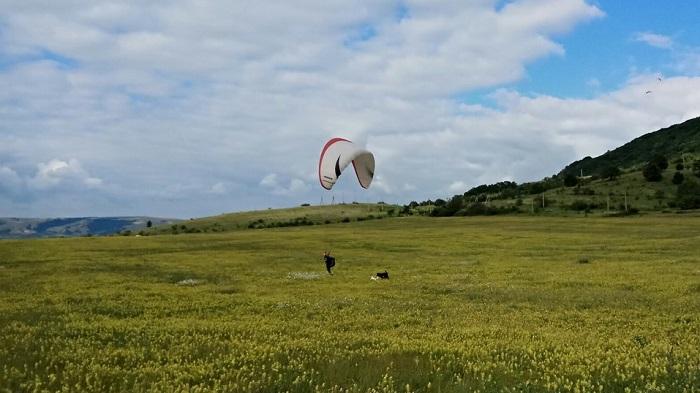 Обучение полетам на параплане в Крыму