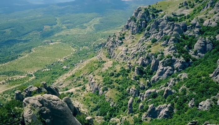 Фото Демерджи гора-кузнец близ Алушты