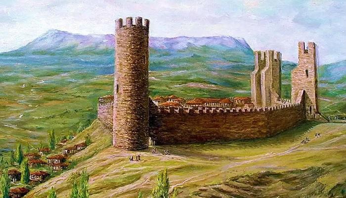 Фото Древняя крепость Алустон