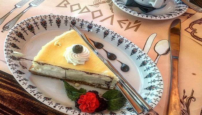 Фото Десерт в ресторане Водолей Алушта