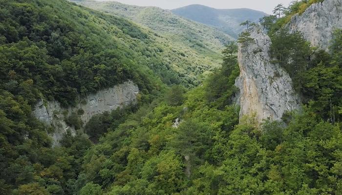 Большой каньон Крым фото