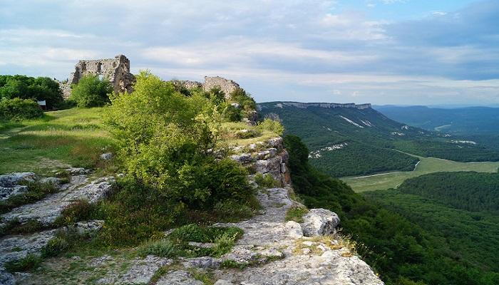 Фото Пещерный город Мангуп-Кале