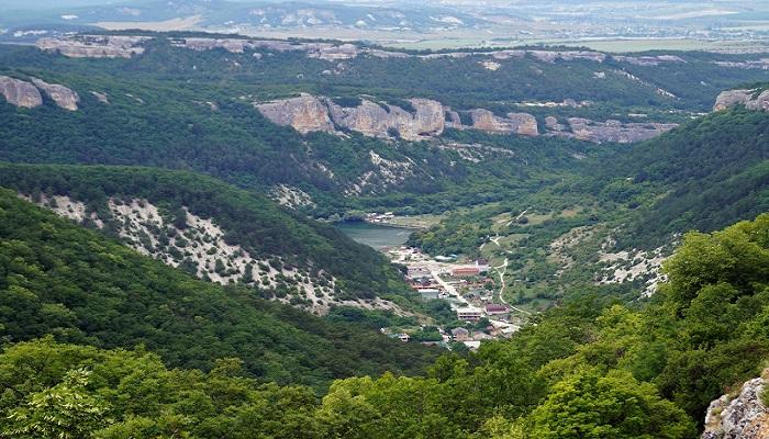 Фото Вид на село Ходжа-Сала