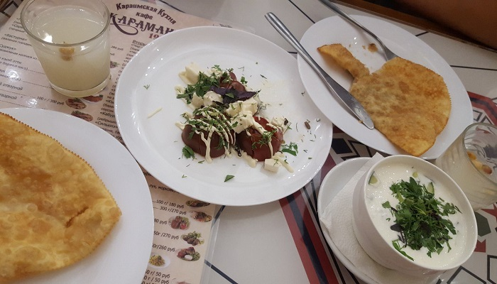 Обед в кафе Караман Евпатория