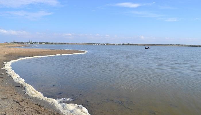 Озеро Бойгалы близ г. Саки Крым