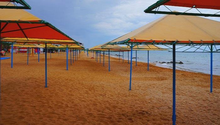 фото песчаные пляжи Феодосии