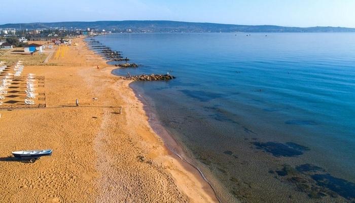Пляж Феодосии