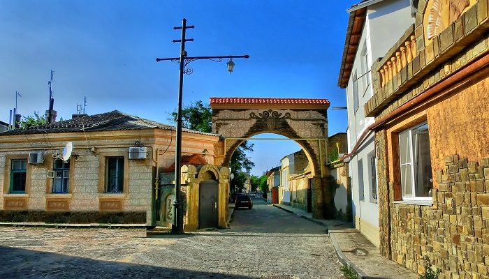 Фото Ворота Белого Муллы Евпатория