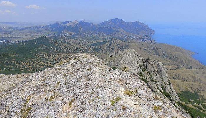 Фото Вид с горы Эчки-Даг