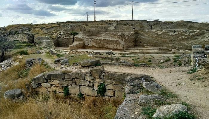 Фото Древнегреческий город Нимфей Крым