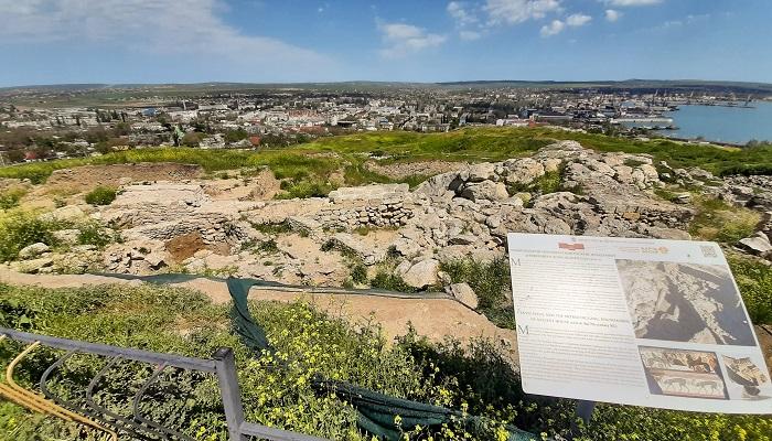Древний город Пантикапей в Керчи