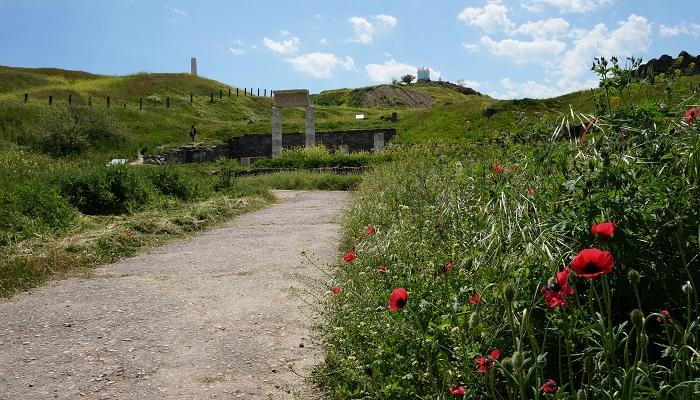 Древний город Пантикапей в Крыму