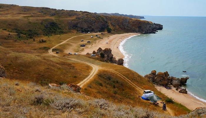 фото Генеральские пляжи близ Керчи