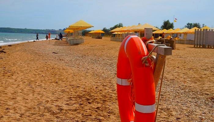 фото инфраструктура керченских пляжей