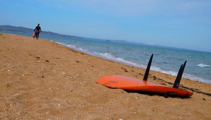 фото песчаные пляжи города Керчь
